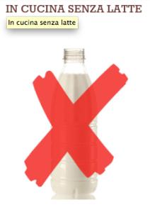 senza latte lactose free