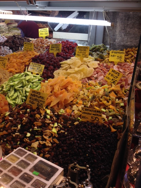 frutta essiccata gran bazar