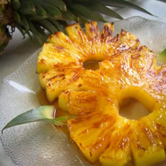 Ananas al forno