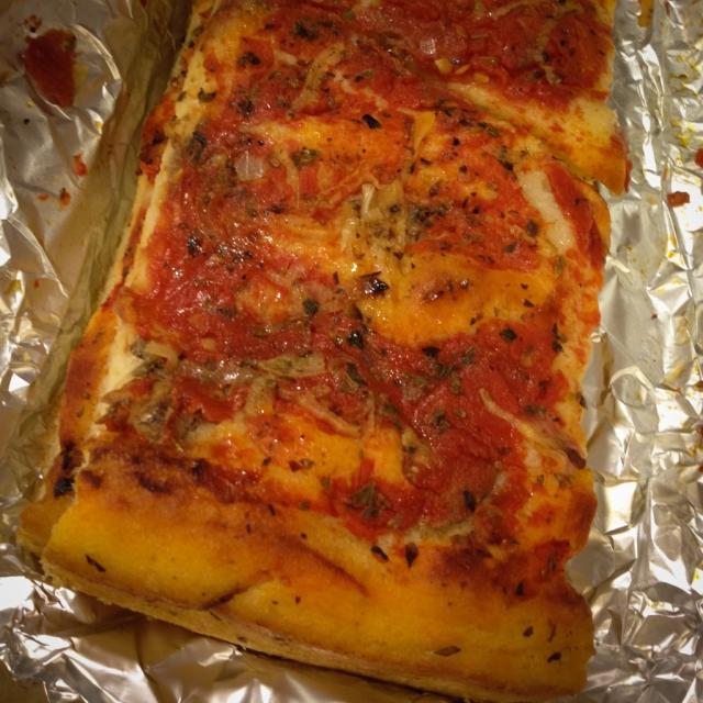 pizza rianata di Marsala