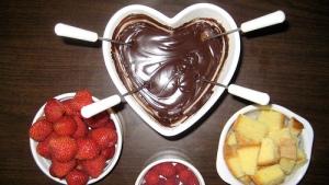 Fonduta di cioccolata