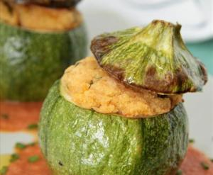 zucchine tonde ripiene