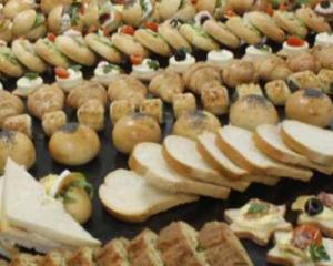 pasticceria salata biscotti tartine sandwich stuzzichini