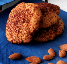 biscotti integrali mandorle