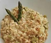 risotto aromatico asparagi e anacardi