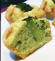 muffins ai broccoli