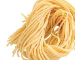 spaghetti alla chitarra di mais