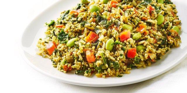 quinoa saltata verdure
